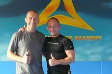 Darius mit Steve Maxwell