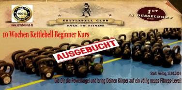10 Wochen Kettlebell Beginner Kurs