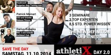 AthletiX Day 2.0 im KINGSGYM Düsseldorf!