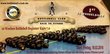 10 Wochen Kettlebell Beginner Kurs in Düsseldorf – 18.03.2016